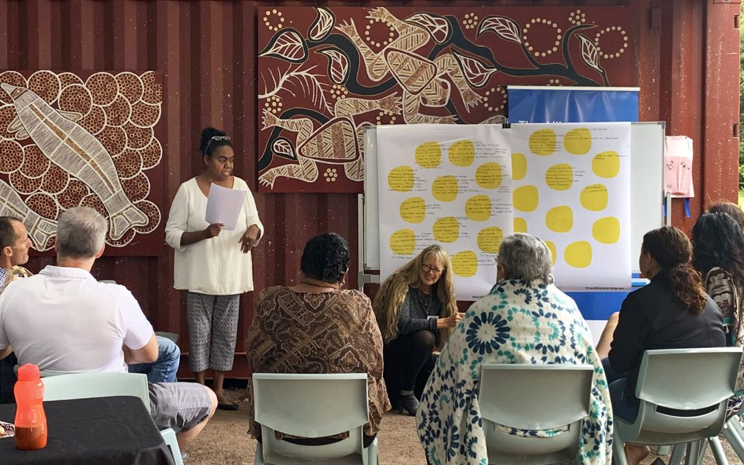 Collective action starts to reduce suicide in the Indigenous community