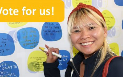 Vote for us to receive training funding