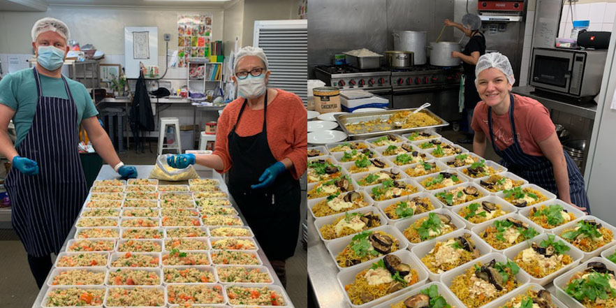 Healing the community with the gift of a meal
